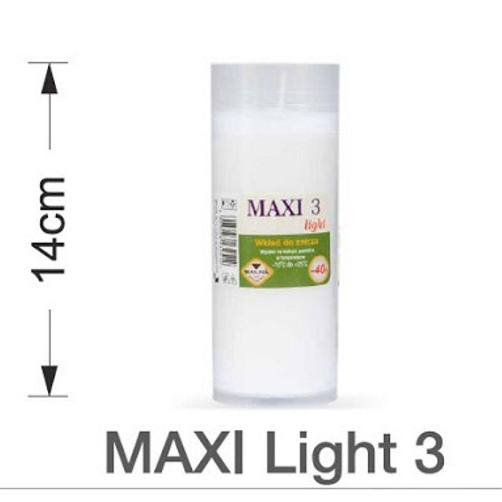 Wkład do znicza MAXI 3, 14cm, 40h MAX-POL